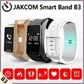 Jakcom b3 banda inteligente novo produto de wristba como pulso vibrando despertador smart watch aptidão pulseira de telefone celular