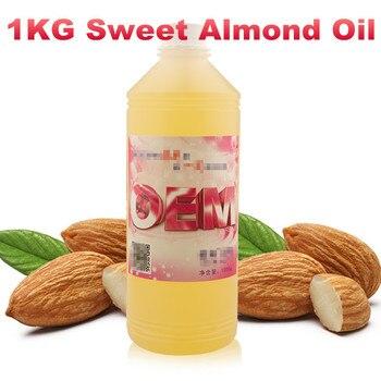 Aceite dulce de almendra Aceites orgánicos naturales esenciales 1000ml 1L envío gratis Prunus amygadalus dulce