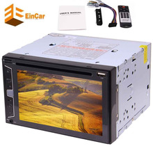 Eincar Car Radio screen double DIN 6.2″ Stereo Car DVD/cd play,Bluetooth hands free,Steering Wheel Control,FM AM,RDS,Rear Camera