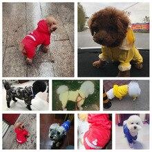 og Raincoat Puppy Rain Coat with Hood Reflective Waterproof Dog Clothes Soft Breathable Pet Cat Small Rainwear XS - 2XL