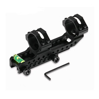 Extend Dual Ring AR15 M4 M16 Defense Rifle Optical Scope Mount 1 Inch 25 4mm 30mm