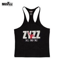 Топ для бодибилдинга MUSCLE ALIVE, Мужская одежда для занятий фитнесом, спортивная одежда для спортзала, мужские хлопковые стринги ZYZZ
