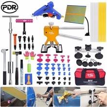 PDR Tools Kit Dent Puller Reflector Board Glue Dent Removal Car Dent Repair Hail Damage Repair Paintless Dent Repair Tool Sets