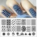 32Pcs/lot Nail Stamping DIY Beauty Image Plate Nail Art Stencils Stamp Plates Creative Designs Polish Templates Tools