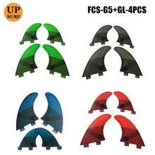 цена на Water Sport FCS K2.1 Fins Honeycomb Fibre Surfboard Fin in Surfing FCS 4 in Per Set