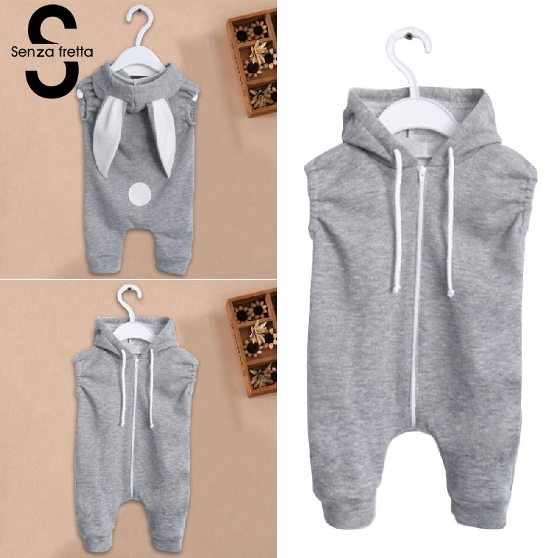 Senza-Fretta-Gray-Zipper-Conjoined-Jeans-With-Rabbit-Ears-Hooded-Sweater-Baby-girlBoys-Sweaters-Ins-Hot-Sale-Hoodies-For-baby-4