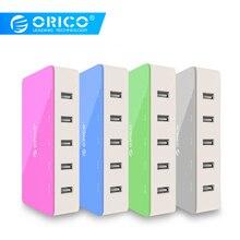 ORICO 5 Port Desktop Charger Mobile Phone Travel Charger USB