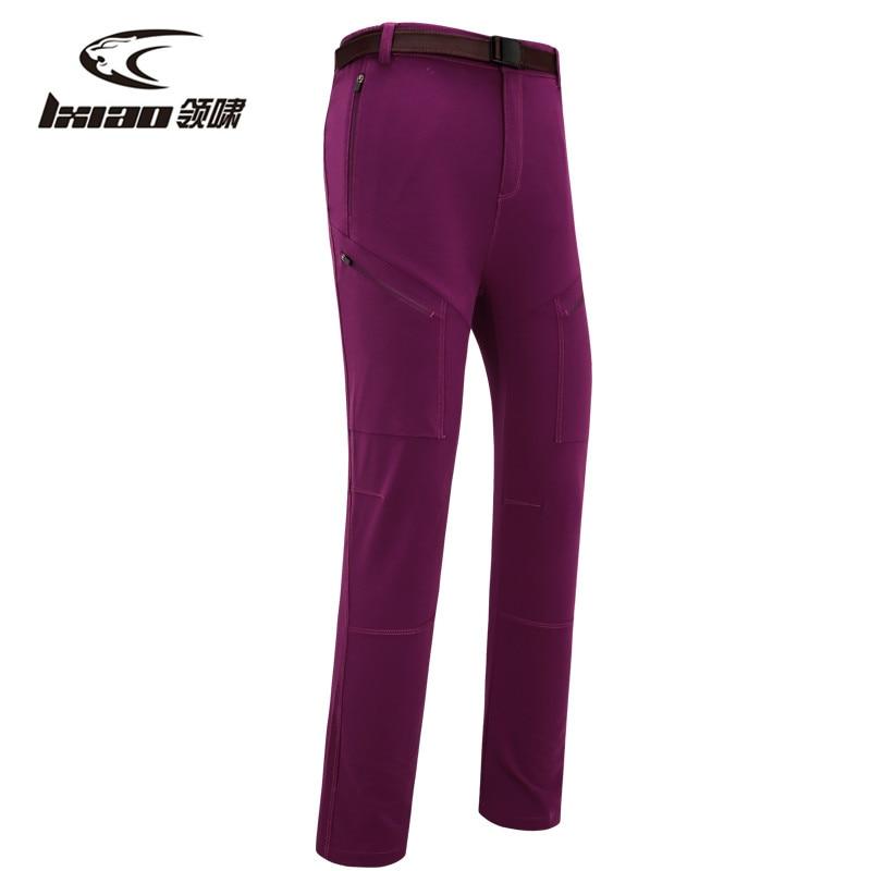 LXIAO pantalons de randonnée femmes séchage rapide pantalon Zipper respirant imperméable Camping Trekking pantalons femmes pantalons de Sport en plein air femmes