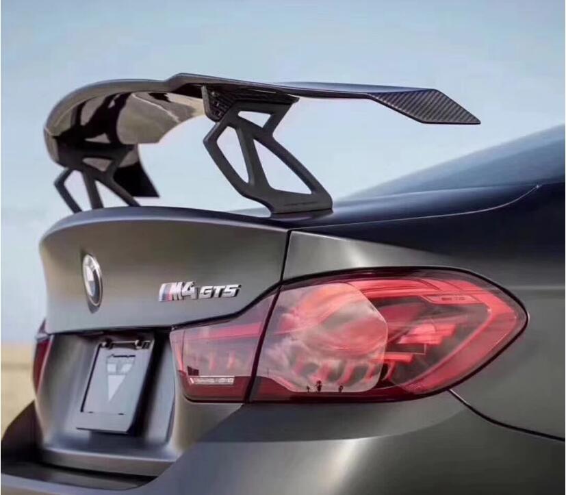 VOITURE De Fiber DE carbone ARRIÈRE AILE TRUNK LIP SPOILER POUR BMW F87 F80 F82 F83 M2 M3 M4 2014 2015 2015 2017 2018 2019 GT GTS VARIS STYLE