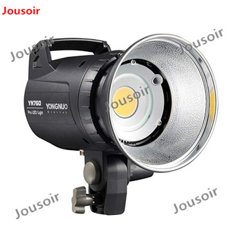 YONGNUO YN760 LED Studio Light Lamp with 5500K Color Temperature and Adjustable Brightness for the Camera Camcorder CD50
