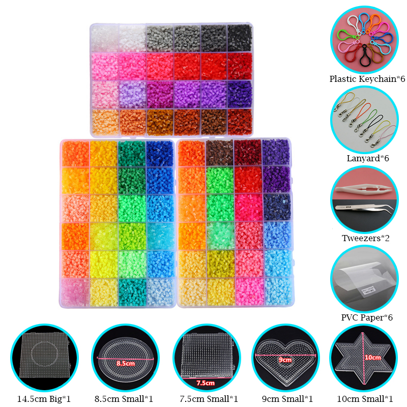 Toys & Hobbies Puzzles Official Website 2.6mm 6pcs Big Square Pegboards For Mini Hama/fuse Beads Can Be Conntected To Bigger Plastic Diy Jigsaw Template Good Reputation Over The World