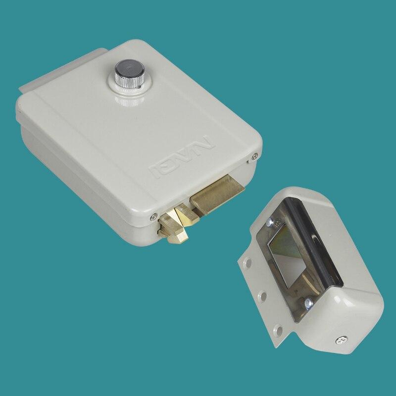 Universal Electronic intercom lock Door Lock for Door Access Control System digital electric best rfid hotel electronic door lock for flat apartment