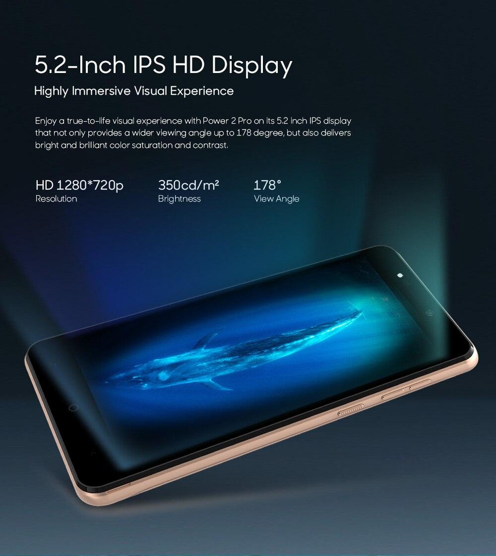 LEAGOO POWER 2 PRO 4000mAh Face ID Fingerprint Smartphone 2GB+16GB Dual Camera Android 8.1 Quad Core 5.2' HD 4G Mobile Phone (8)