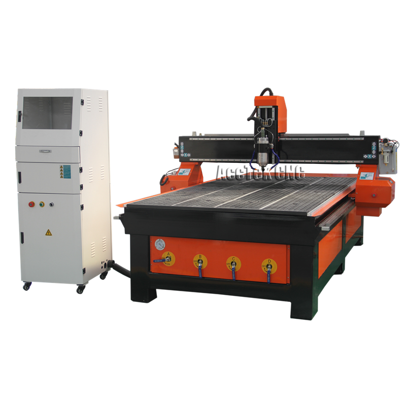 1300*2500 4*8 Feet  3d Woodworking Machine/woodworking Cnc Router With Longer Life Time