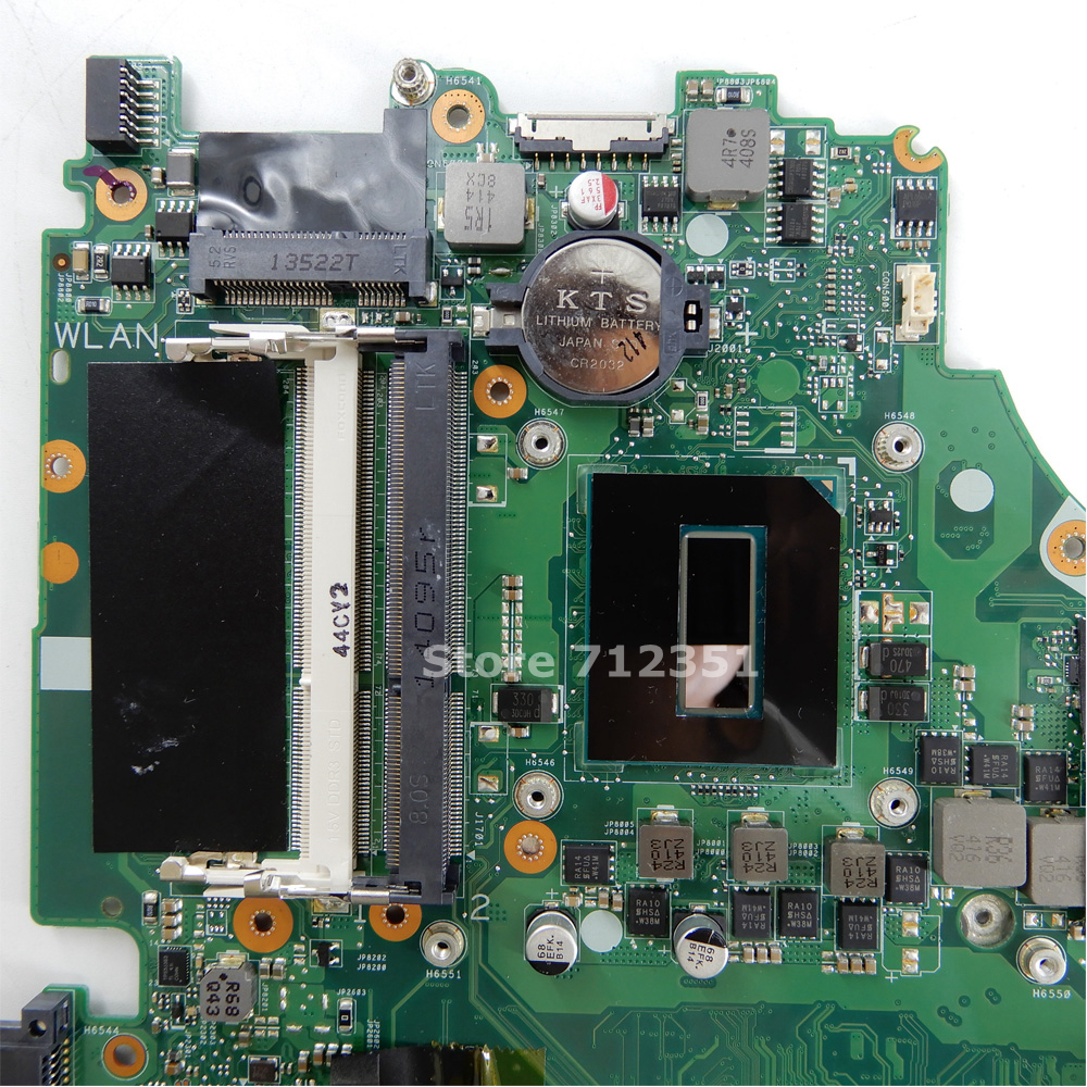 For Asus X750JN Laptop Motherboard With i7 CPU GT840M 2GB DDR3 X750JN Mainboard