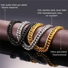 Necklaces For Men Miami Cuban Chain