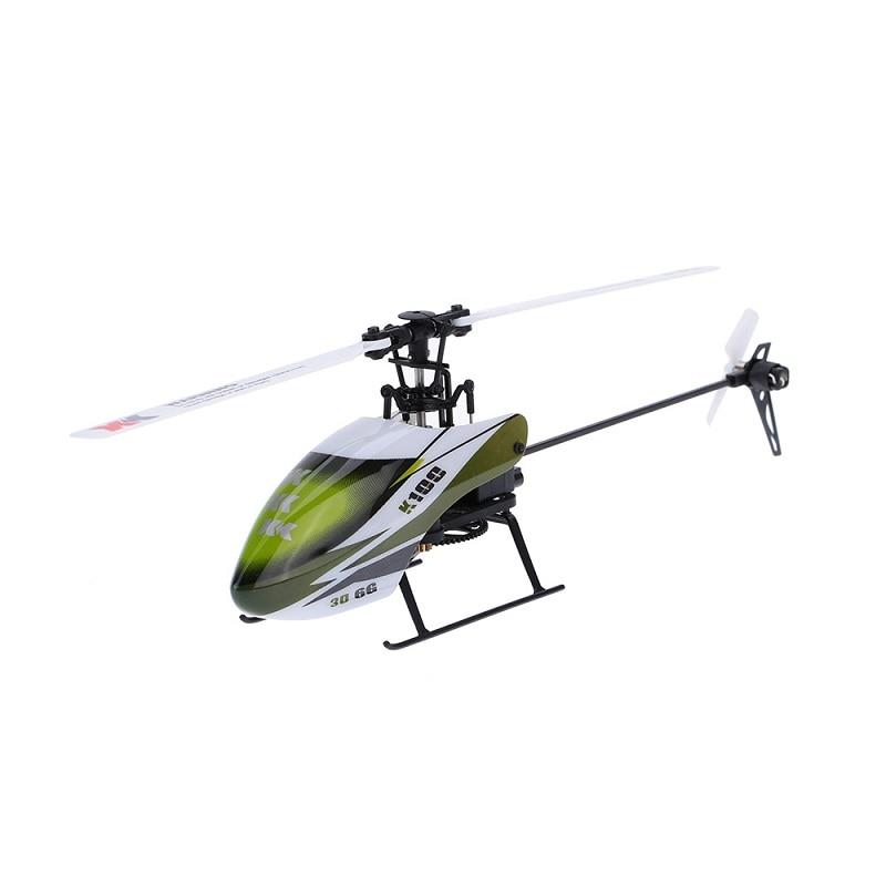 ХК k100 Фальцуем 6-канальный flybarless 3D6G система дистанционного управления игрушки RC вертолет БНФ без передатчика