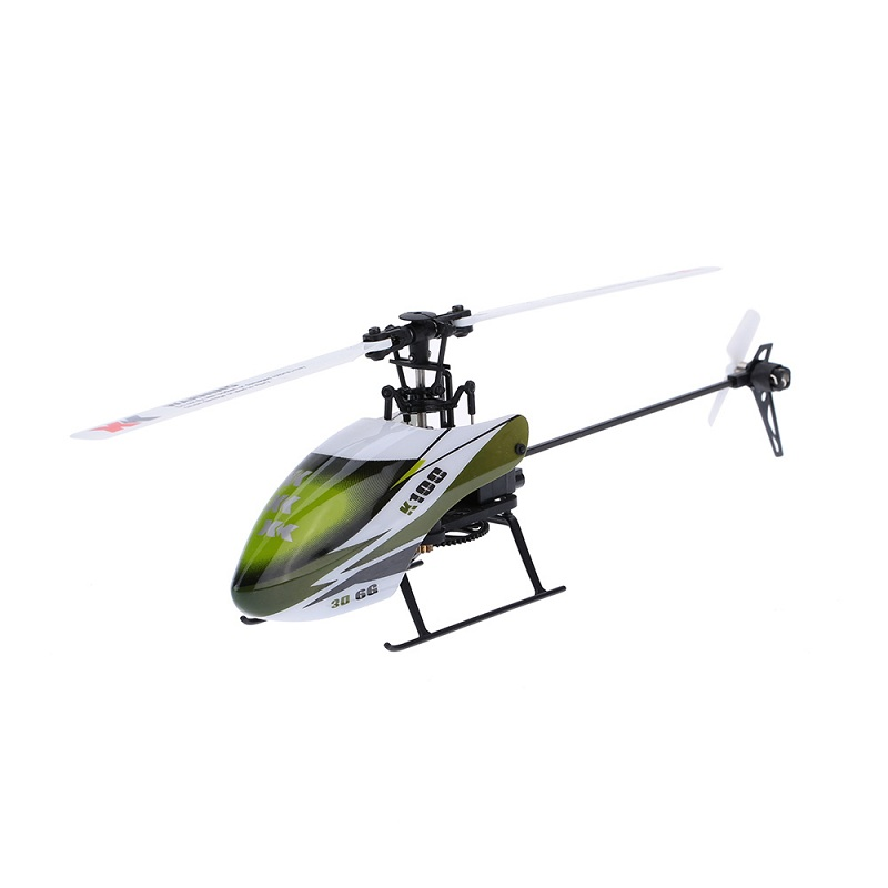 XK K100 Falcom 6CH Flybarless Système 3D6G télécommande jouet RC Hélicoptère BNF Sans Émetteur