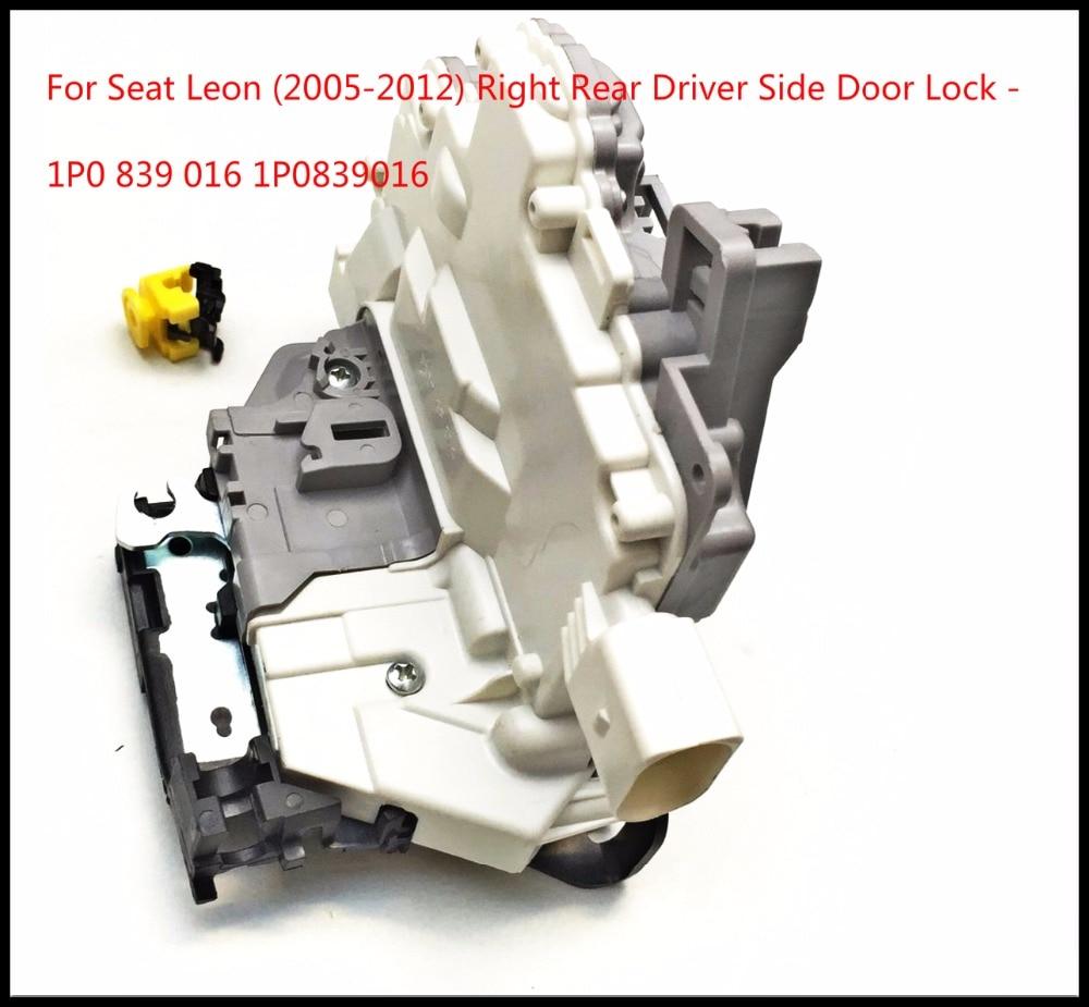 Только для Seat Leon (2005-2012) правый задний замок со стороны водителя с механизмом центрального замка-1P0 839 016 1P0839016