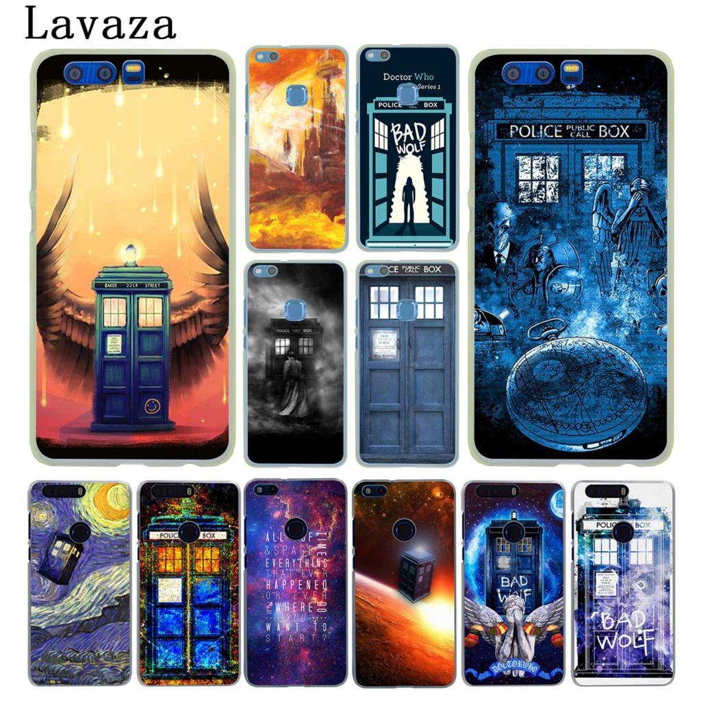 Half-wrapped Case Doctor Who Box Tpu Phone Case For Huawei Honor 6a 7a Pro 7c 7 8 X 9 10 Lite Y5 Y6 Prime 2017 2018 Nova 3 3i Cellphones & Telecommunications
