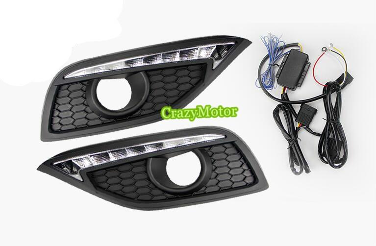 2 шт./компл. авто DRL дневные ходовые огни для Хонда CRV 2012 2013 2014 (не подходит для типа Северной Америке)