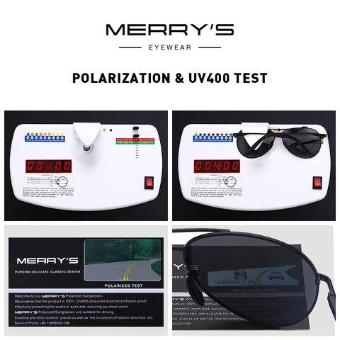 MERRYS DESIGN Men Classic Pilot Polarized Sunglasses Men Driving Shield Night Vision Sun glasses UV400 Protection S8601 Multan
