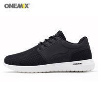 Onemix Men S Running Shoes Breathable Mesh Women Sports Sneaker Lightweight Lace Up Sneaker For Outdoor