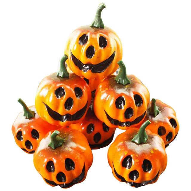 16pcs12pcs Mini Foam Pumpkin For Thanksgiving Fall Halloween Table