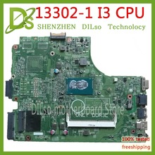 KEFU 13302-1 for dell INSPIRON 3446 3549 3449 3546 laptop motherboard dell 3542 motherboard I3 CPU  orginal Test motherboard цена и фото