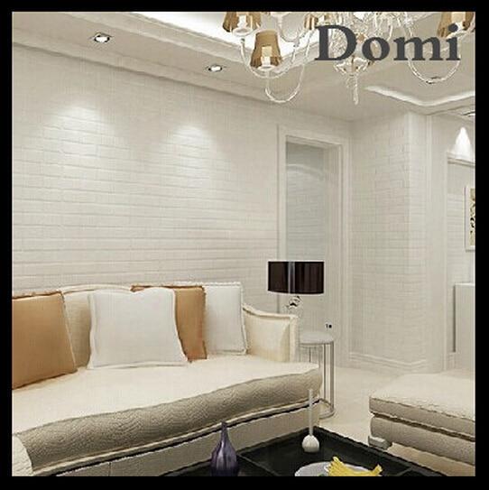 pvc de vinilo papel pintado de ladrillo blanco para paredes rstico tv fondo de