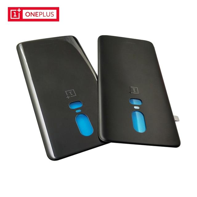 online retailer 8205d efbbc Original OnePlus 6 Back Battery Cover Case OnePlus6 Glass Housing ...