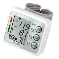 High Quality 100 Professional Digital Health Monitors Digital Tonometer With Voice Wrist Blood Pressure Monitor Heat