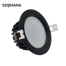 10w 12w 15w 20w COB LED Ceiling down Light round Recessed Led Downlight IP65 Waterproof AC110-265V home decor lighting