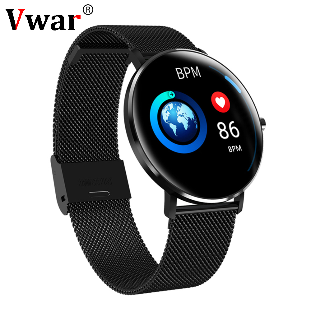 Men's Watches N58 Ecg Ppg Smart Watch With Electrocardiograph Ecg Display Heart Rate Monitor Blood Pressure Mesh Steel Smartwatch Beautiful In Colour Watches