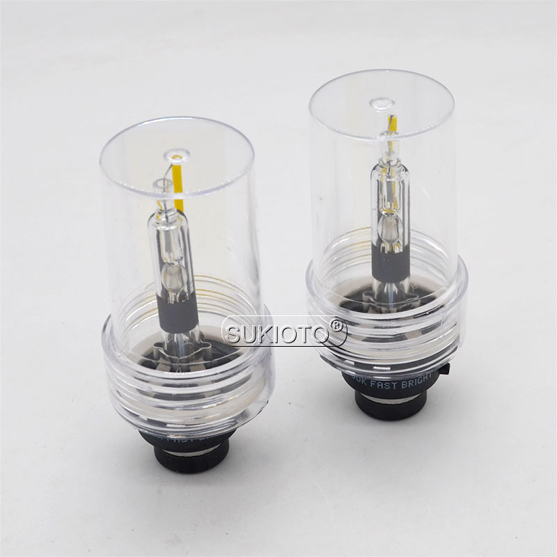 SUKIOTO Premium 55W Xenon D2S D4S Car Headlight HID Bulb 5500K D2S D4S HID Projector Lens Bulb For 55W D2R D4R Xenon Ballast Kit (6)