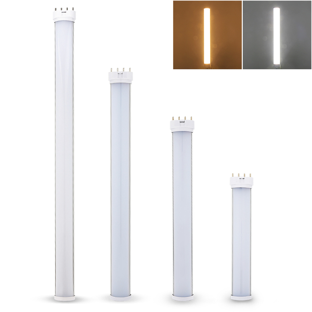 2G11 4pin LED Tube Light Bar 12W 15W 18W 25W Led Lamp Bulb Spotlight Indoor Lighting Luminaire Warm White/White AC85~265V