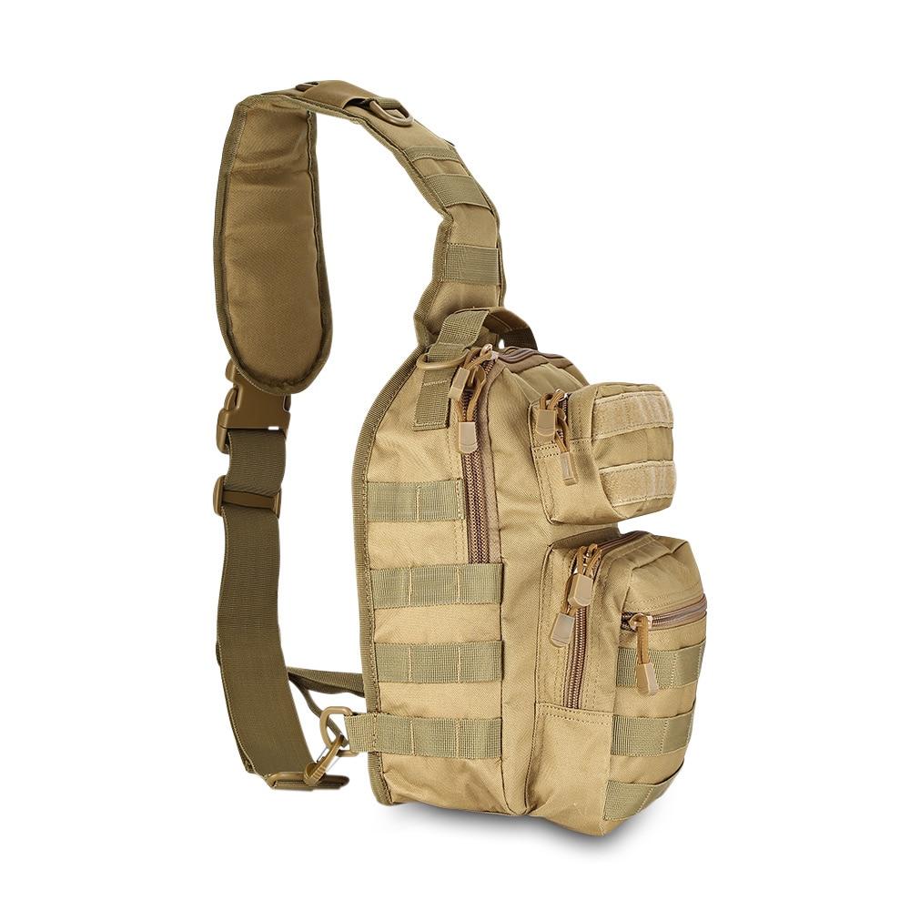 Black camel Bag Di Sacchetto Tessuto Fodera Nylon Impermeabile 600d Sling Militare Esterno In Brown Spalla Tattico 480d Zaino Crossbody Outlife Duro H4YzU4