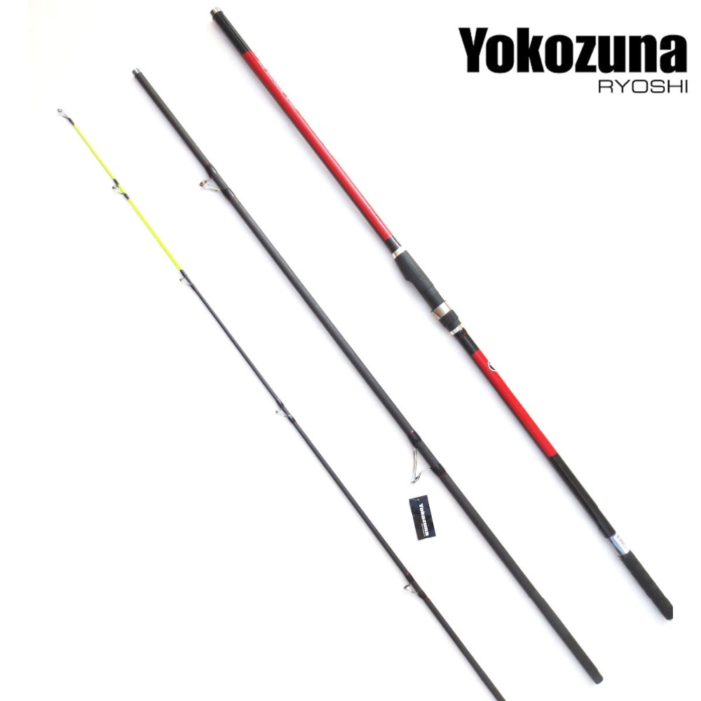 Free Shipping Ryoshi 3 Section Surf Casting Rod High