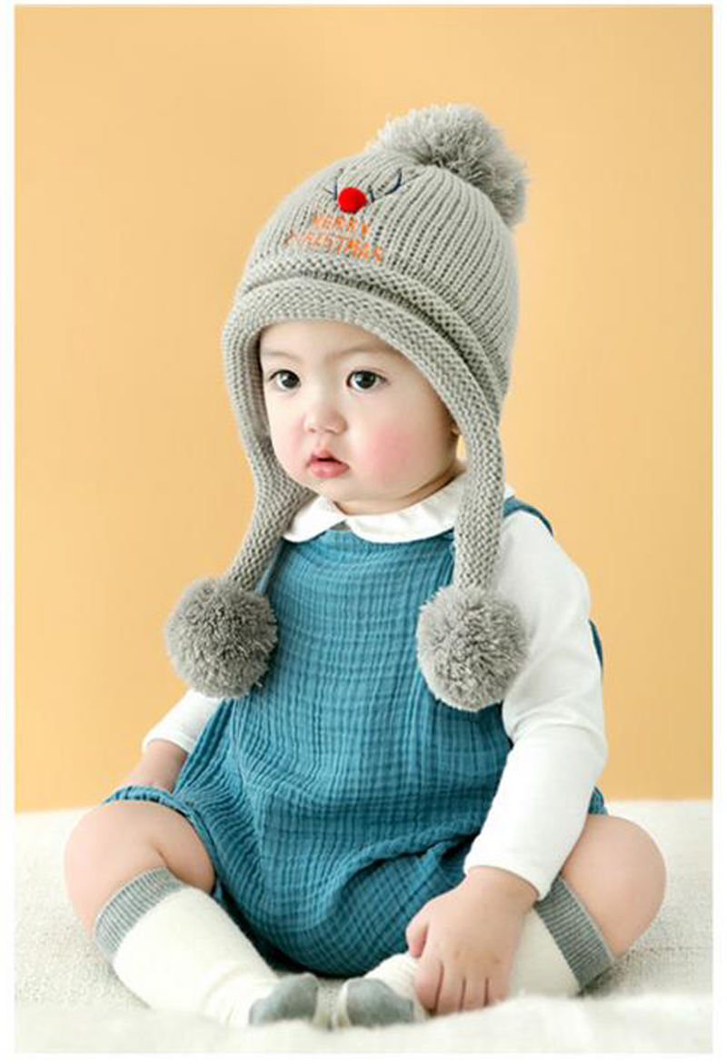 Prenatal & Postnatal Supplies New Baby Rabbit Ears Cute Knitted Hat Infant Toddler Winter Cap For Children Girl Boy Accessories Photography Props Xl44