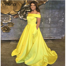 888822c3c7 Vestido De Festa A-line Long Evening Dress Vintage Off The Shoulder Prom  Dresses Robe