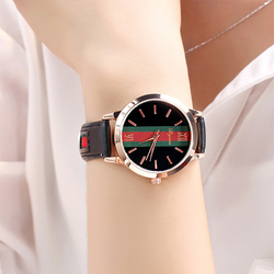 2018 Women Watches Top Brand Luxury Fashion Casual Leather Ladies Wristwatch Female Clock Women's Quartz Watch Relogio Feminino