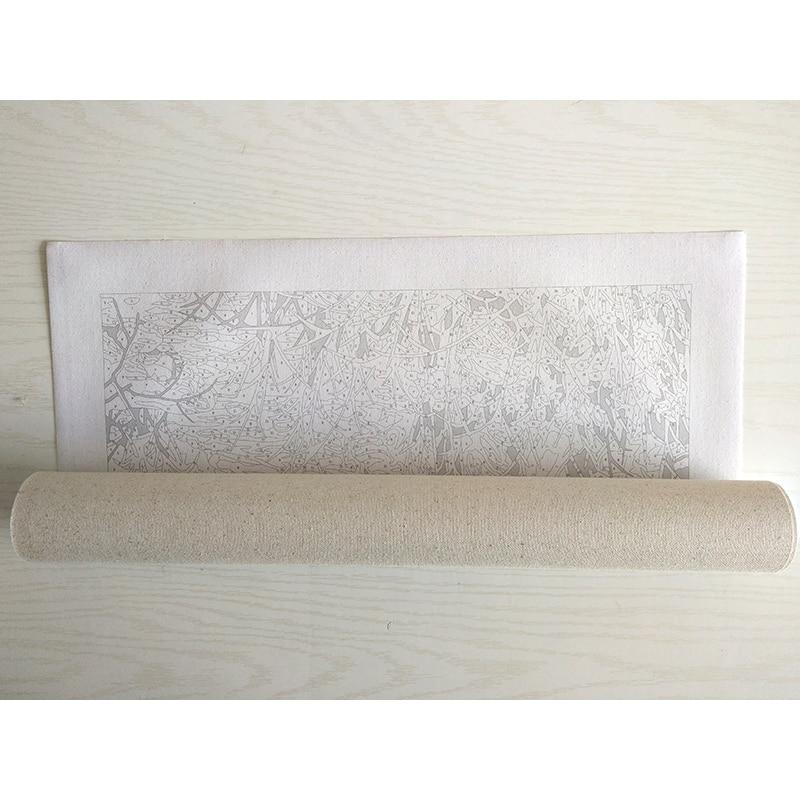 Rahmenlose Acryl Bild Lavendel DIY Malen Nach Zahlen Kits Zeichnung - Wohnkultur - Foto 2