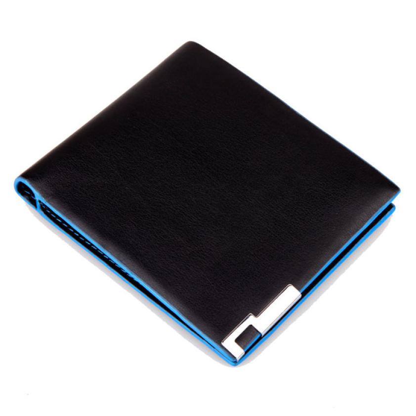 Leather Men Stylish Bifold Business Wallet Brand Luxury Leather Wallets Office Male Wallet Mature Man Bifold Wallet Small Purse