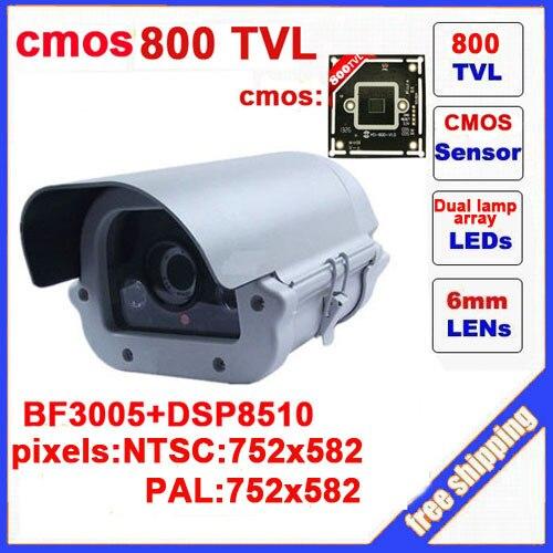 CMOS 800 TVL Dual Lamps Array Infrared Camera Outdoor Waterproof Camera CCTV Camera Security Z60C seeyou 2mp 1 2 8 cmos waterproof outdoor bullet ip camera 1080p poe security camera cctv 2pcs array infrared led board camera