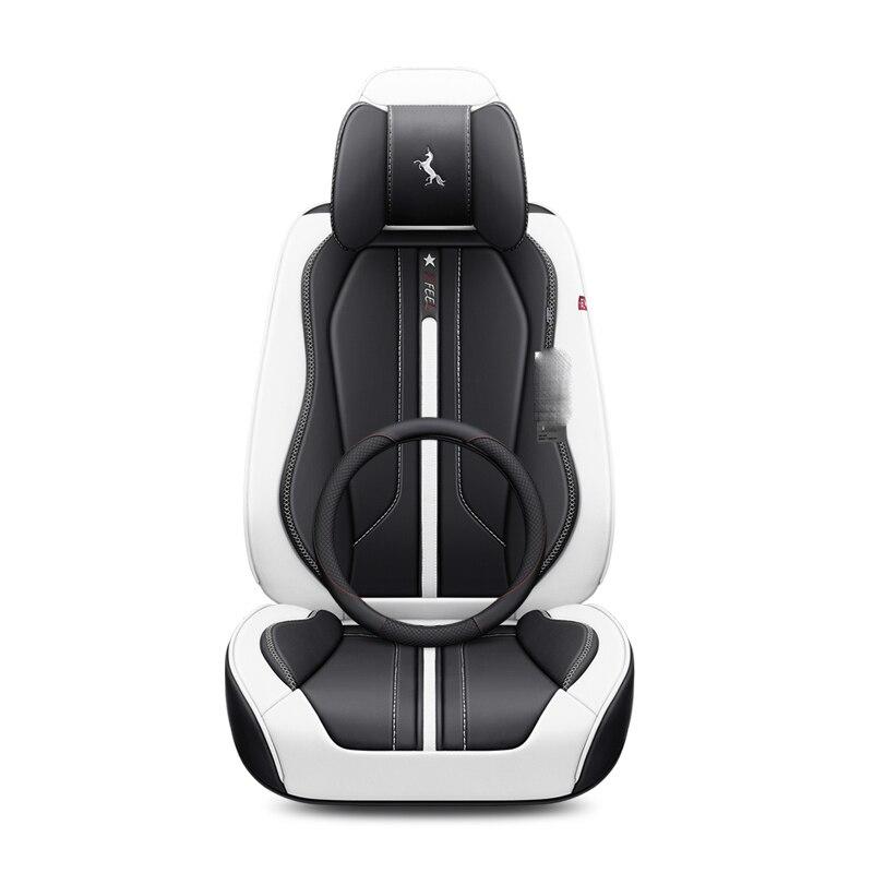 Pour Cadillac ATS CTS XTS SRX SLS Escalade 3D Design Surround complet coussin housse de siège en cuir résistant à l'usure