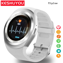 KESHUYOU Sport smart watch TS1 Heart Rate monitor  Passometer  relogio smart watch men Support SIM TF Card for android phone bluetooth smart watch phone full screen support sim tf card smart watch position sleep monitor heart rate ios android