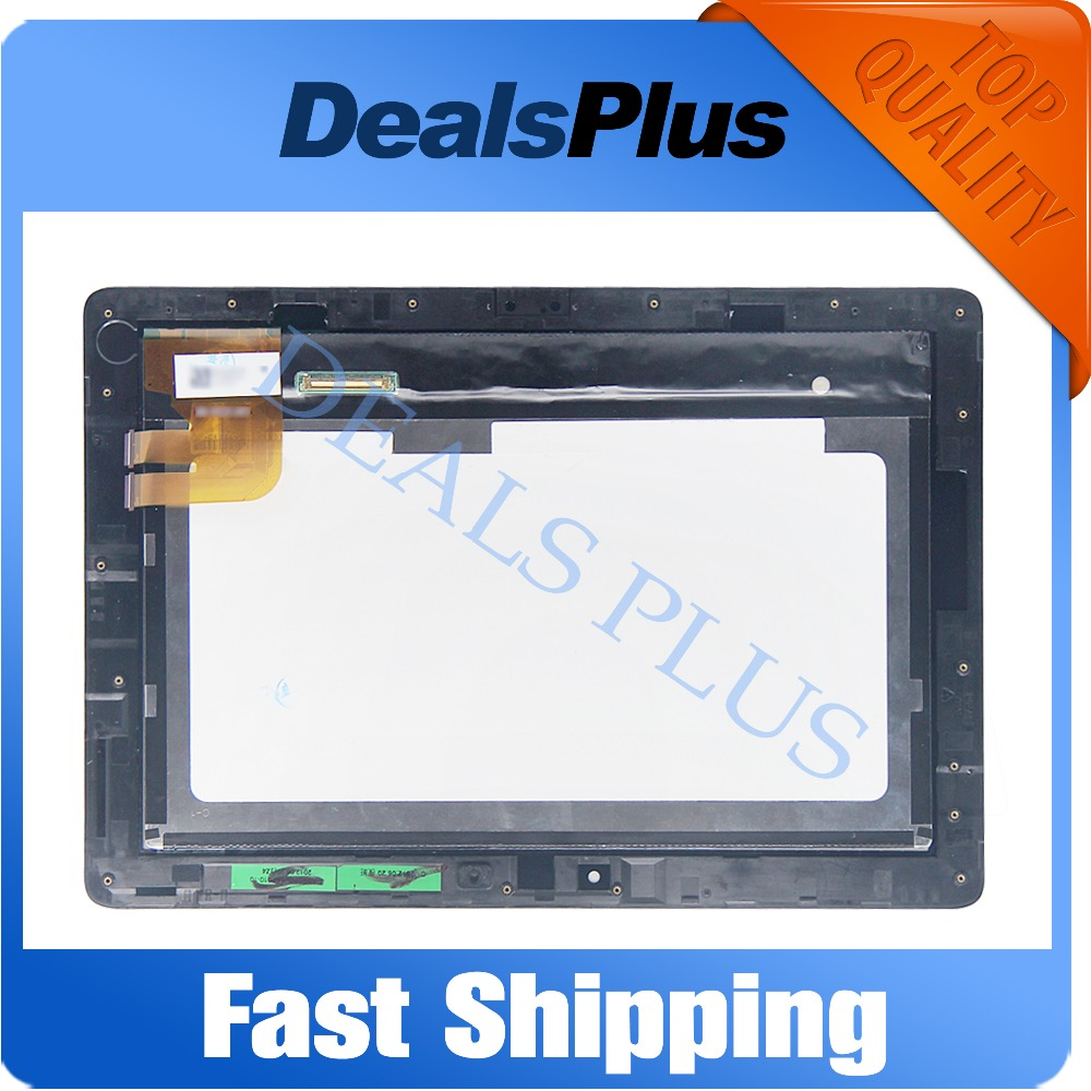 Replacement New LCD Display Touch Screen+Frame Assembly For Asus EeePad Transformer TF300 TF300TG TF300T 69.10I21.G03 3G Version 10 1 touch screen digitizer glass panel for asus eeepad transformer tf300tg tf300 no version only white label