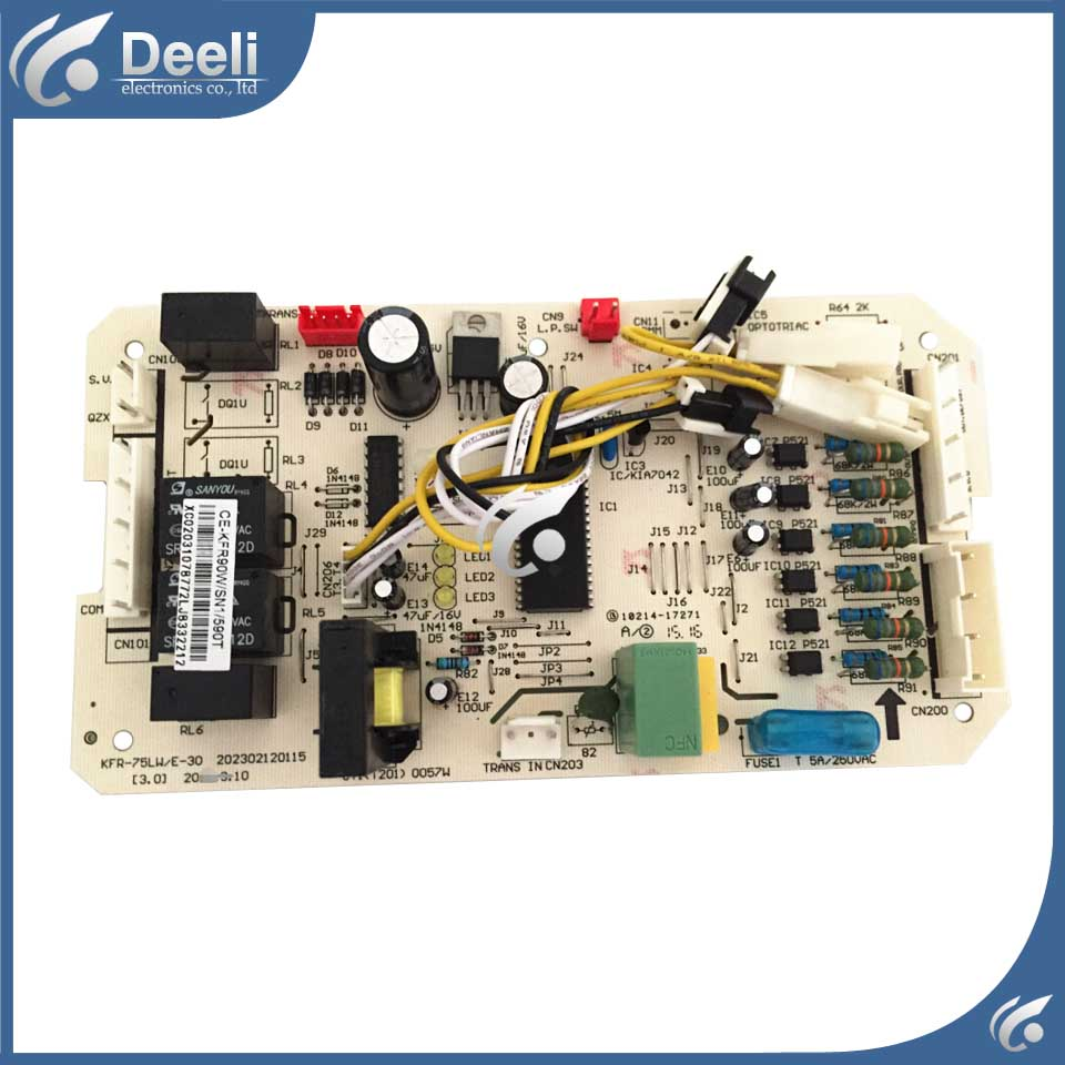 98% new good working for air conditioning board CE-KFR90W/SN1-590T(C2)(ROHS) computer board on sale used for air conditioning computer board circuit board ce kfr71dl sn1y b d 1 1 1 1 board good working