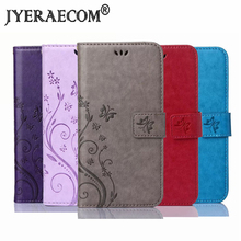 JYERAECOM Flip PU Leather + Wallet Cover For Huawei P7 P8 P8