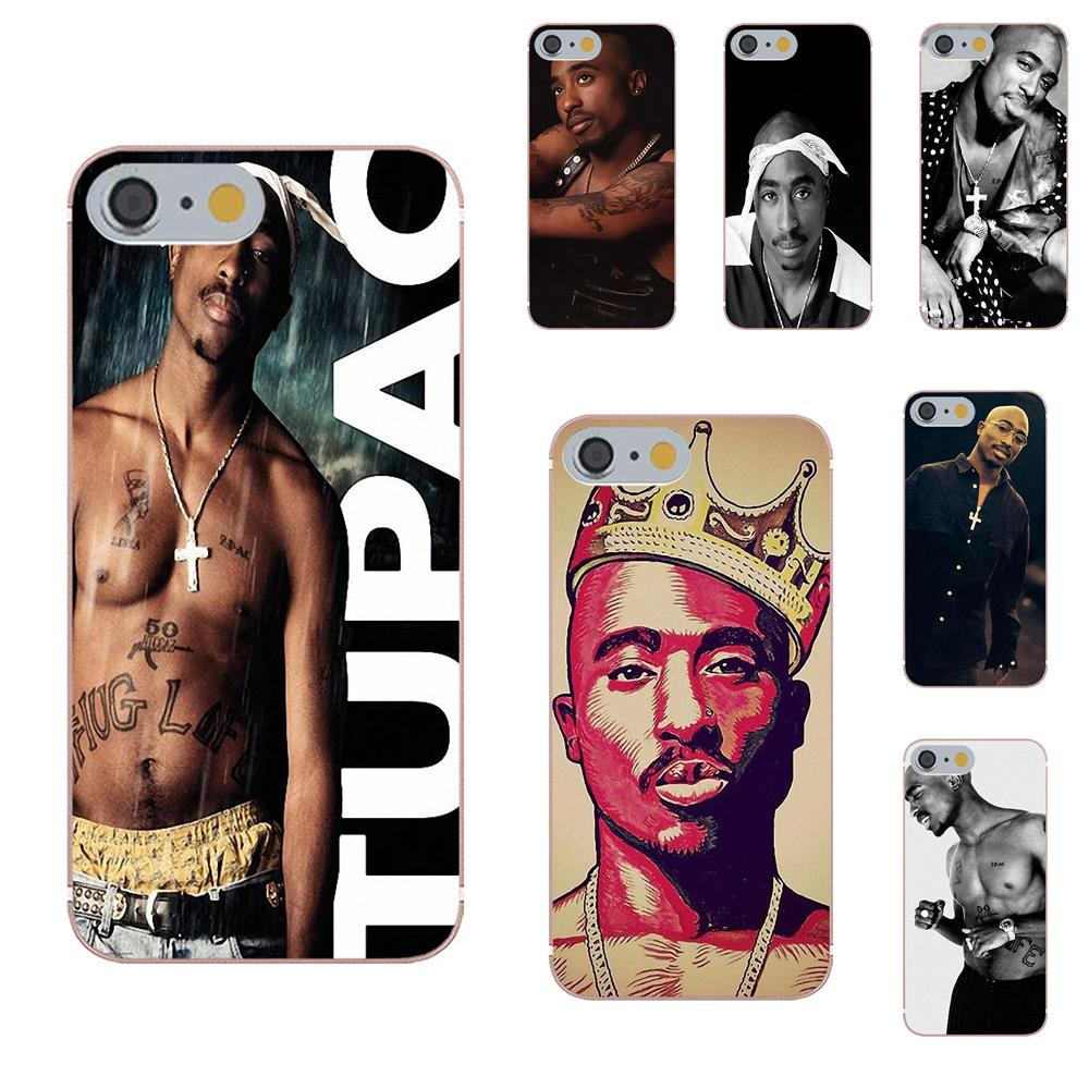 Hospitable Oedmeb Soft Tpu Print Case 2pac Tupac Shakur For Apple Iphone 4 4s 5 5c 5s Se 6 6s 7 8 Plus X Xs Max Xr Delaying Senility Cellphones & Telecommunications